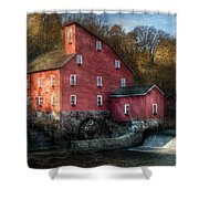 Mill - Clinton Nj - The Old Mill Shower Curtain