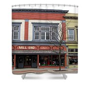 Mill End Store In Clare Michigan Shower Curtain