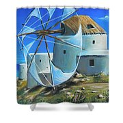Mill On The Hill Shower Curtain