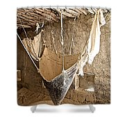 Mill On The Way To Shigatse-tibet Shower Curtain