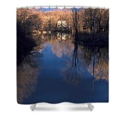 Mill Pond Shower Curtain