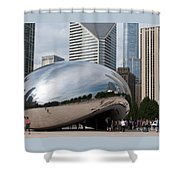 Millennium Park View Shower Curtain