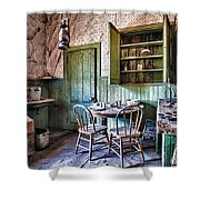 Miller House Kitchen Shower Curtain