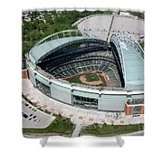 Miller Park Milwaukee Wisconsin Shower Curtain