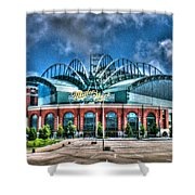 Miller Park  Shower Curtain