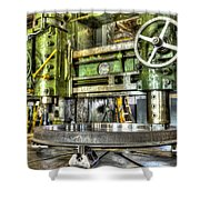 Milling Shower Curtain