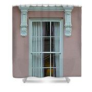 Mills House Window Shower Curtain