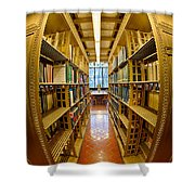 Milstein Room Nyc Library Shower Curtain