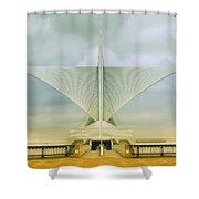 Milwaukee Art Center Shower Curtain