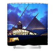 Milwaukee Art Museum Shower Curtain