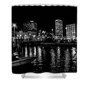 Milwaukee Downtown Third Ward Shower Curtain