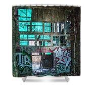 Milwaukee - Solvay Coke And Gas Company  3 Shower Curtain