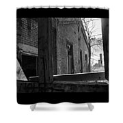 Milwaukee - Solvay Coke And Gas Company  8  Shower Curtain