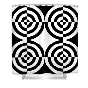 Mind Games 4 Shower Curtain