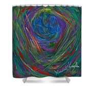 Mind Journey Shower Curtain