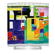 Mindscape II Shower Curtain