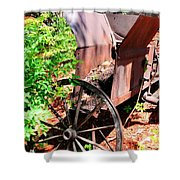 Mine Cart Lost In Time V2 Shower Curtain