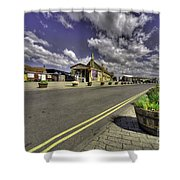Minehead Station  Shower Curtain