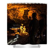 Miners Shower Curtain