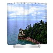 Miner's Castle Shower Curtain