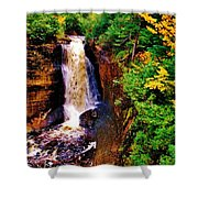 Miner's Falls Shower Curtain