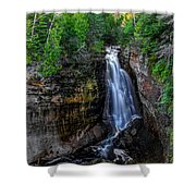 Miners Falls I Shower Curtain