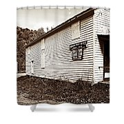 Mingo Post Office And Foxhill Farms General Store Shower Curtain