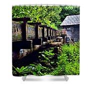 Mingus Mill Shower Curtain