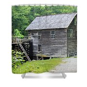 Mingus Mill In Tennessee Shower Curtain