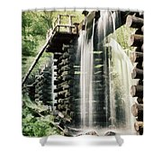 Mingus Mill Millrace Shower Curtain