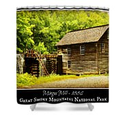 Mingus Mill -- Poster Shower Curtain