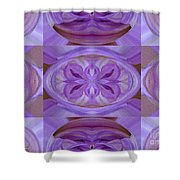 Mingus Randy Abstract Shower Curtain