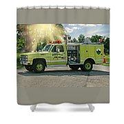 Mini - 1  Monticello Shower Curtain