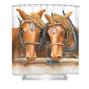 Mini And Jake Shower Curtain