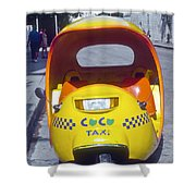 Mini-cab Shower Curtain
