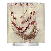 Mini Mum Art Bouquet Shower Curtain