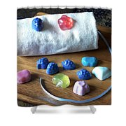 Mini Soaps Collection Shower Curtain
