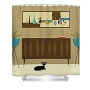 Mini Still Life Shower Curtain