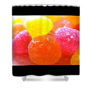 Mini Sugar Fruits Shower Curtain