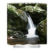 Miniature Cascade Shower Curtain
