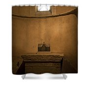 Miniature Templar Church Shower Curtain