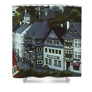 Miniature Village Shower Curtain
