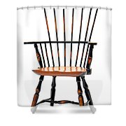 Miniature Windsor Armchair  Shower Curtain