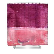 Minima - S02b Pink Shower Curtain