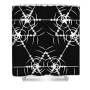 Minimal Life Cube Shower Curtain