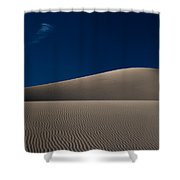 Minimal Mesquite Shower Curtain