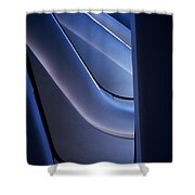 Minimalist Architecture Shower Curtain