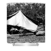 Mining Camp Shower Curtain