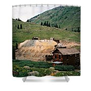 Mining In Anamas Forks Shower Curtain