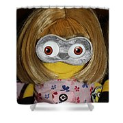 Minion In Disguise Shower Curtain